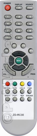 Пульт для Akira ZD-RC30
