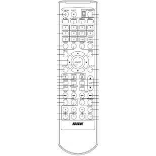 Пульт для BBK DK1004S (замена)