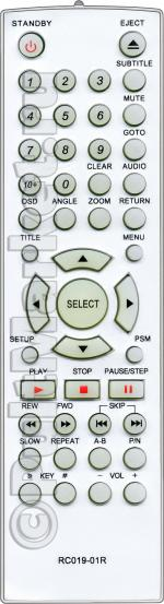 Пульт для BBK RC019-01R