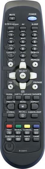 Пульт для Daewoo R-55H11 (LCD)