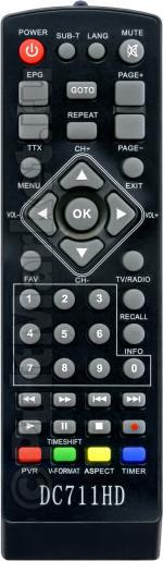 Пульт для D-Color DC711HD