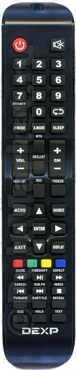 Пульт DEXP CX509-DTV (оригинал)