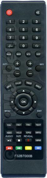 Пульт для DEXP F32B7000B