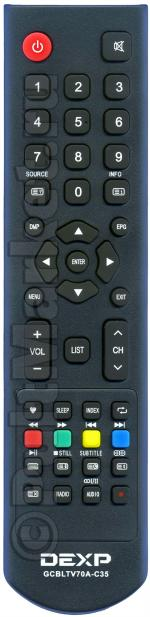 Пульт DEXP GCBLTV70A-C35 (оригинал)