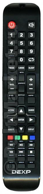 Пульт для DEXP H32B3100E (замена)