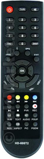 Пульт для Divisat HD-600T2