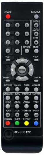 Пульт для Erisson RC-SC6122