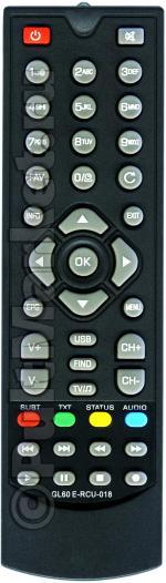Пульт для Globo GL60, E-RCU-018