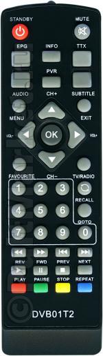 Пульт для Hyundai H-DVB01T2