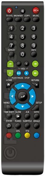 Пульт для IconBIT HDR12L (замена)