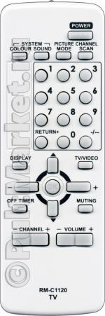 Пульт для JVC RM-C1120