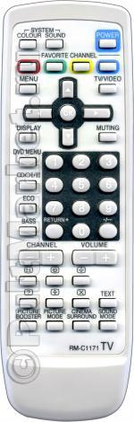 Пульт для JVC RM-C1171