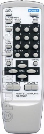 Пульт для JVC RM-C364GY