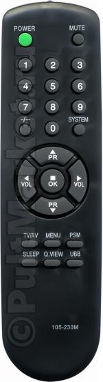 Пульт для LG 105-230M
