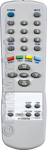 Пульт для LG 6710V00070B