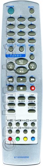 Пульт для LG 6710V00088B