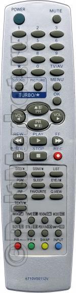 Пульт для LG 6710V00112V