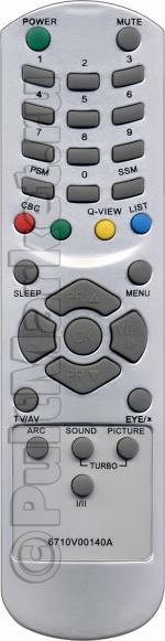 Пульт для LG 6710V00140A