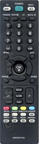 Пульт для LG AKB33871410