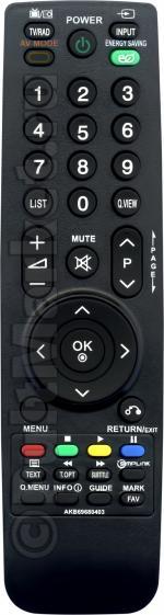 Пульт для LG AKB69680403