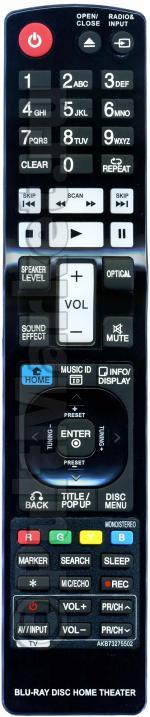 Пульт для LG AKB73275502