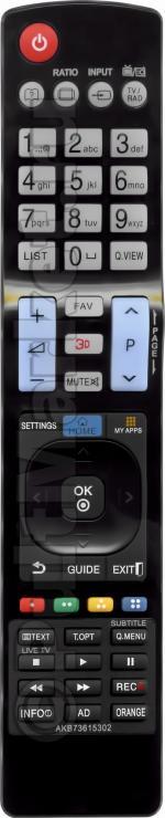 Пульт для LG AKB73615302