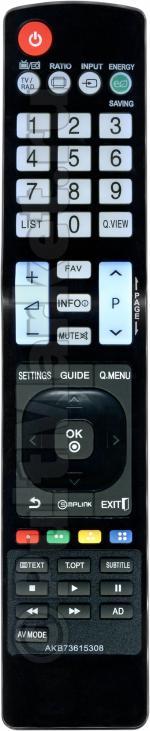 Пульт для LG AKB73615308