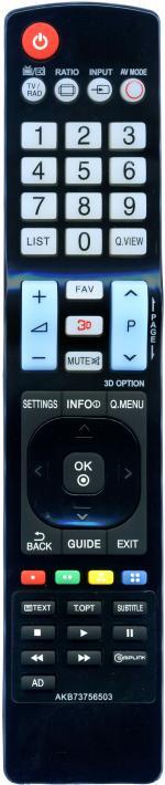 Пульт для LG AKB73756503