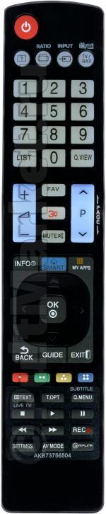 Пульт для LG AKB73756504