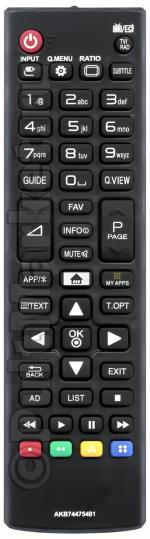 Пульт для LG AKB74475481