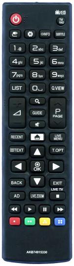 Пульт для LG AKB74915330