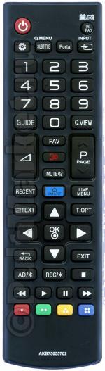 Пульт для LG AKB75055702