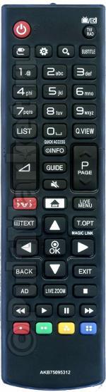 Пульт для LG AKB75095312 / AKB75375611