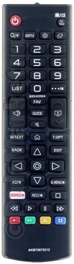 Пульт для LG AKB75675312