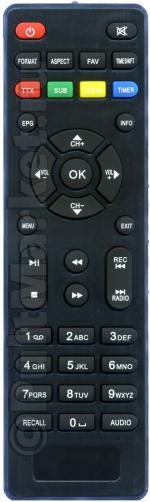 Пульт для Lumax DV-2118H