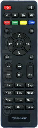Пульт для Lumax DVBT2-555HD