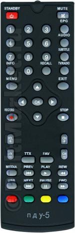 Пульт для Doffler DVB-T2M01