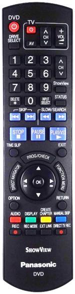 Пульт для Panasonic N2QAYB000125 (замена)
