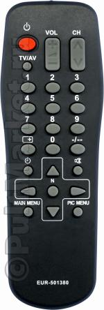 Пульт для Panasonic EUR501380