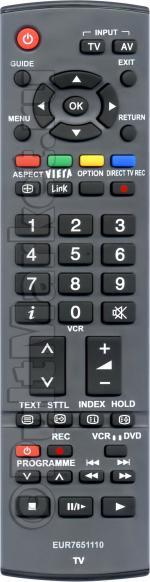 Пульт для Panasonic EUR7651110
