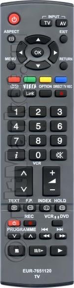 Пульт для Panasonic EUR7651120