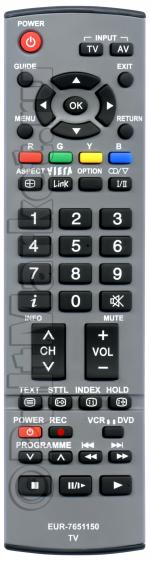 Пульт для Panasonic EUR7651150