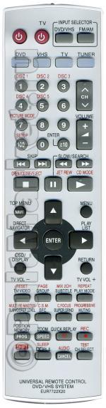 Пульт для Panasonic EUR7722X20