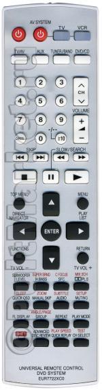 Пульт для Panasonic EUR7722XC0