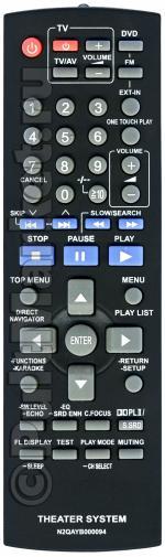 Пульт для Panasonic N2QAYB000094