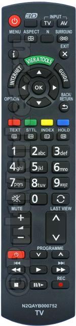 Пульт для Panasonic N2QAYB000752