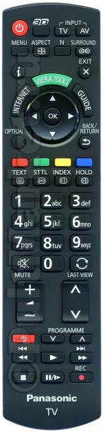 Пульт Panasonic N2QAYB000752 (оригинал)