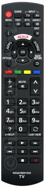 Пульт для Panasonic N2QAYB001009