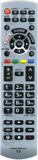 Пульт для Panasonic N2QAYB001115