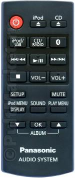 Пульт Panasonic N2QAYC000081 (оригинал)